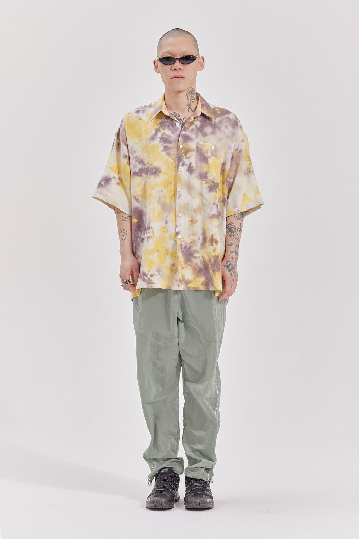 TIE DYE SHIRT_YELLOW