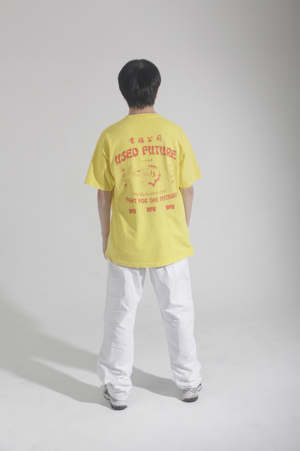 TIGER PIGMENT T-SHIRT_YELLOW
