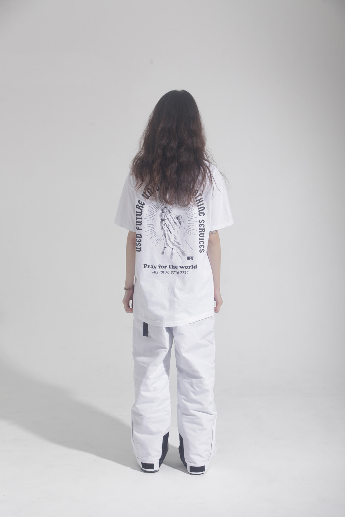 PRAY PIGMENT T-SHIRT_WHITE