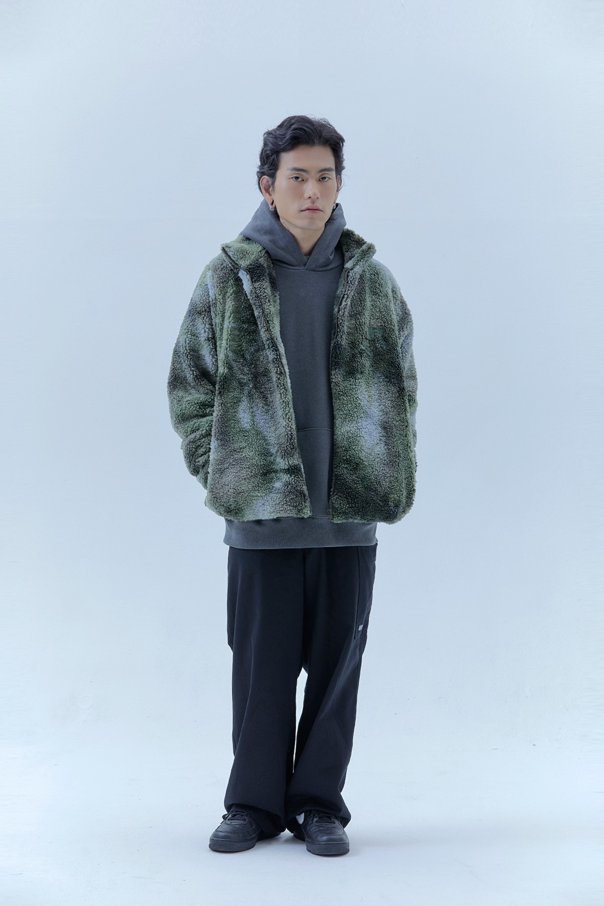 SHERPA JACKET_GREEN
