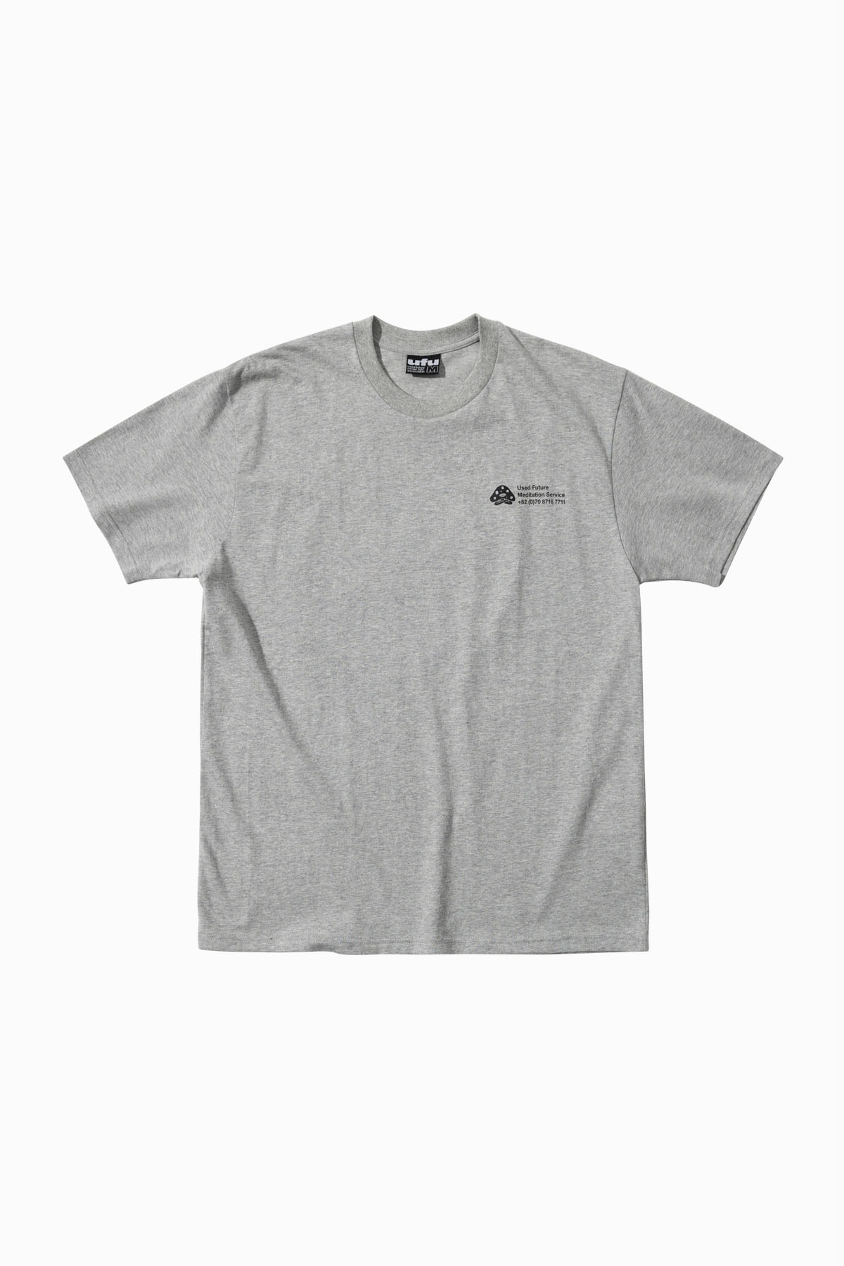 MEDITATION SERVICE T-SHIRT_GREY