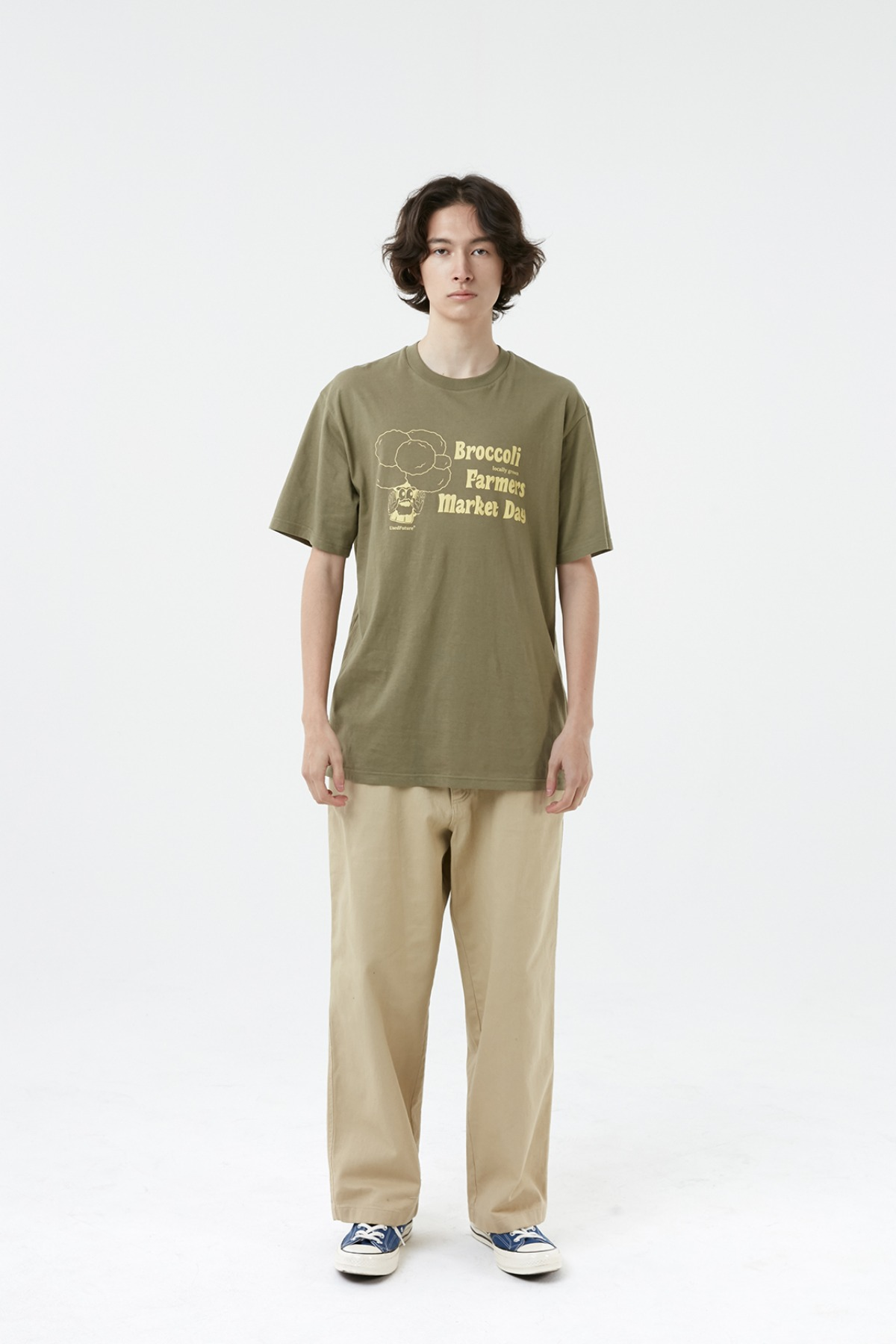 BROCCOLI T-SHIRT_KHAKI