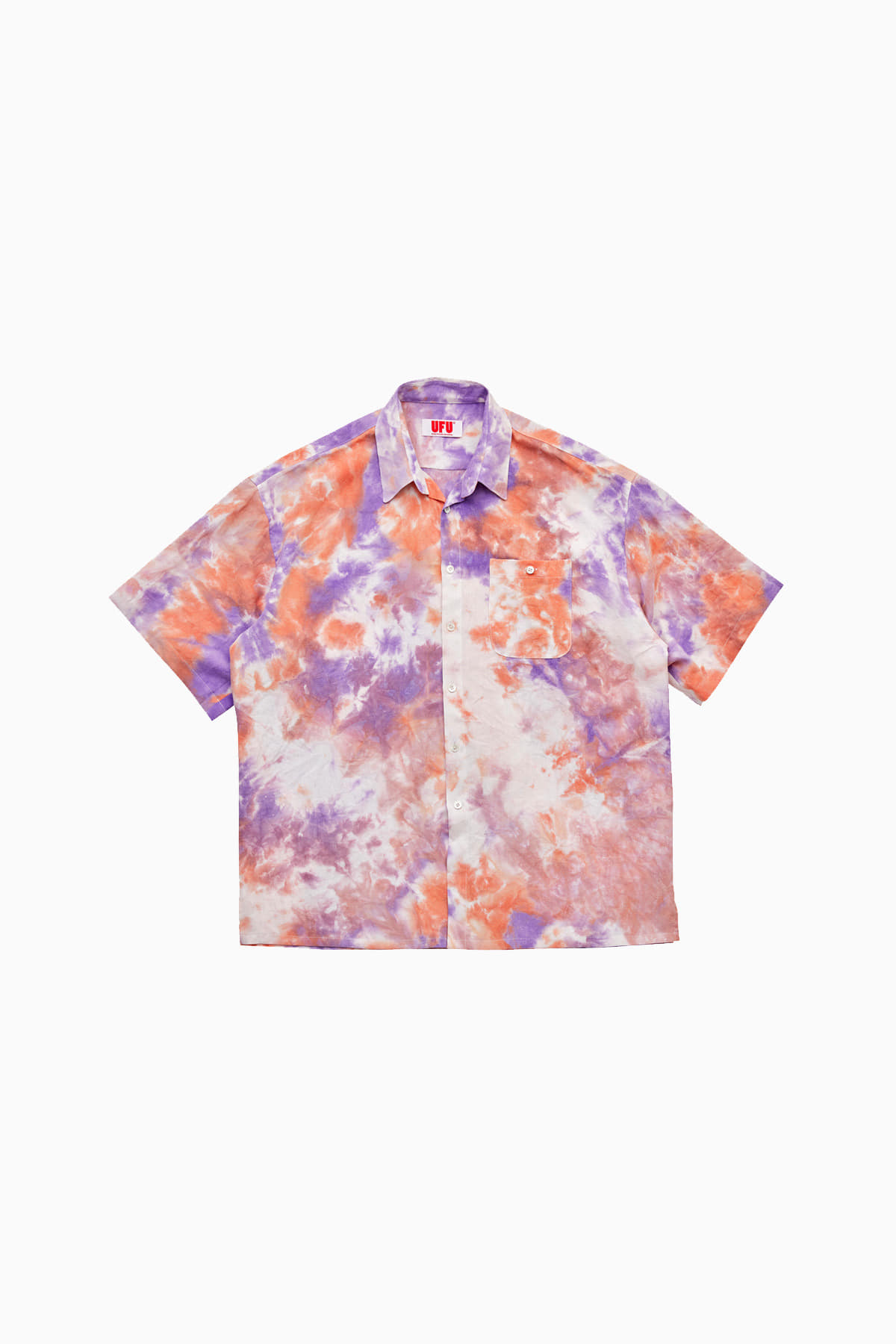 TIE DYE SHIRT_ORANGE