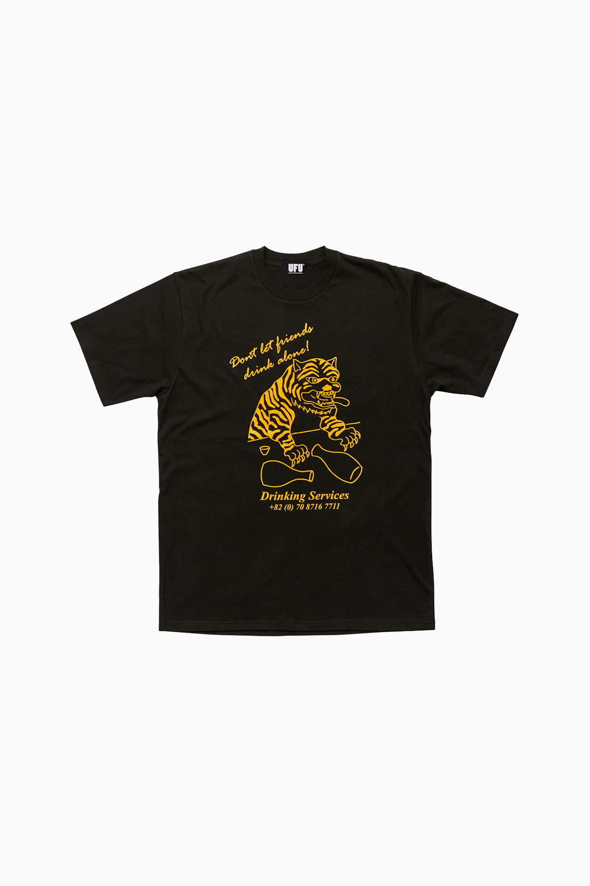 DRINKING T-SHIRT_BLACK