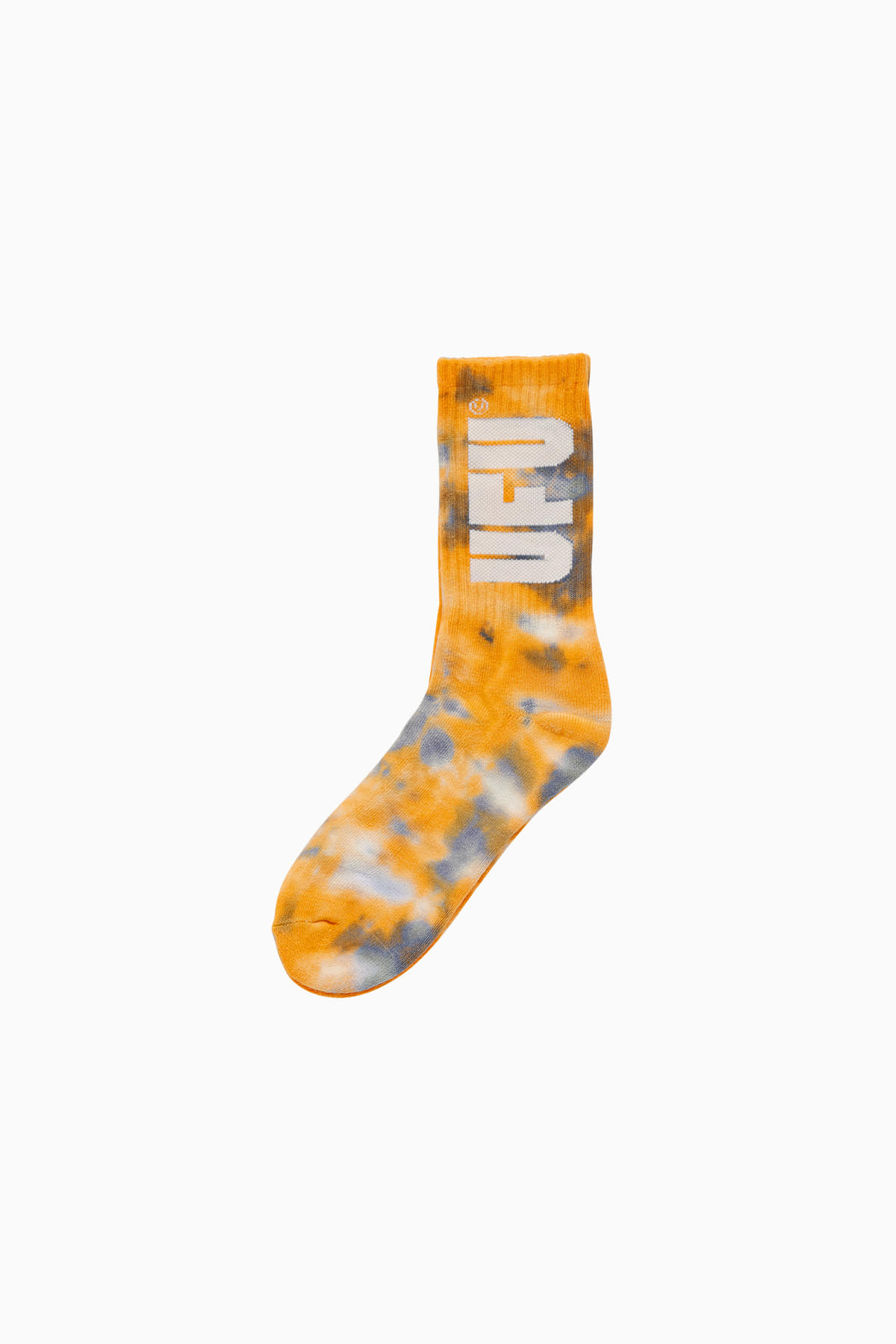 TIE DYE SOCKS_YELLOW