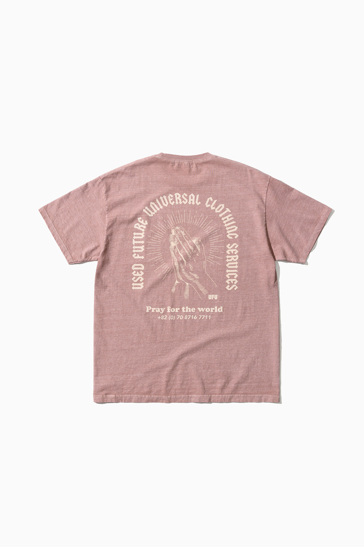 PRAY PIGMENT T-SHIRT_DUST PINK