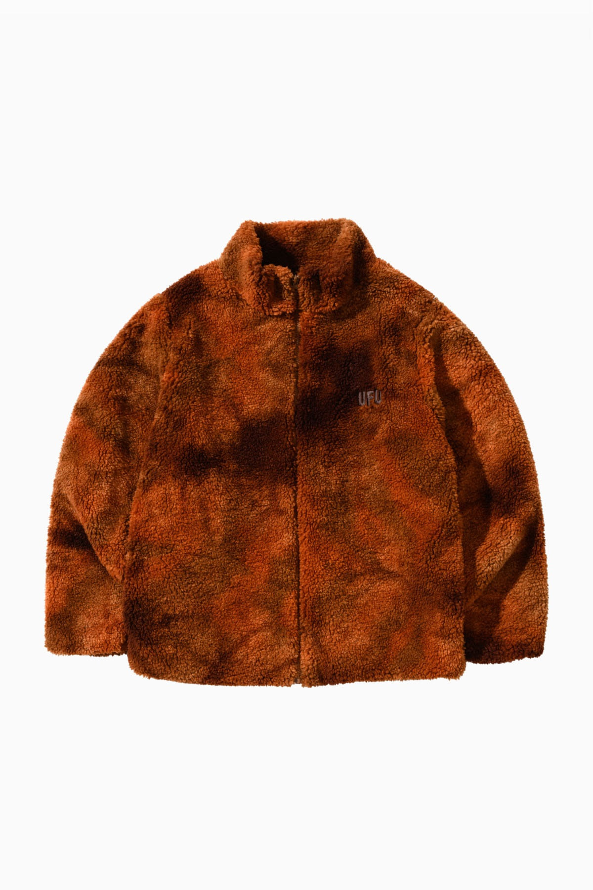 SHERPA JACKET_ORANGE