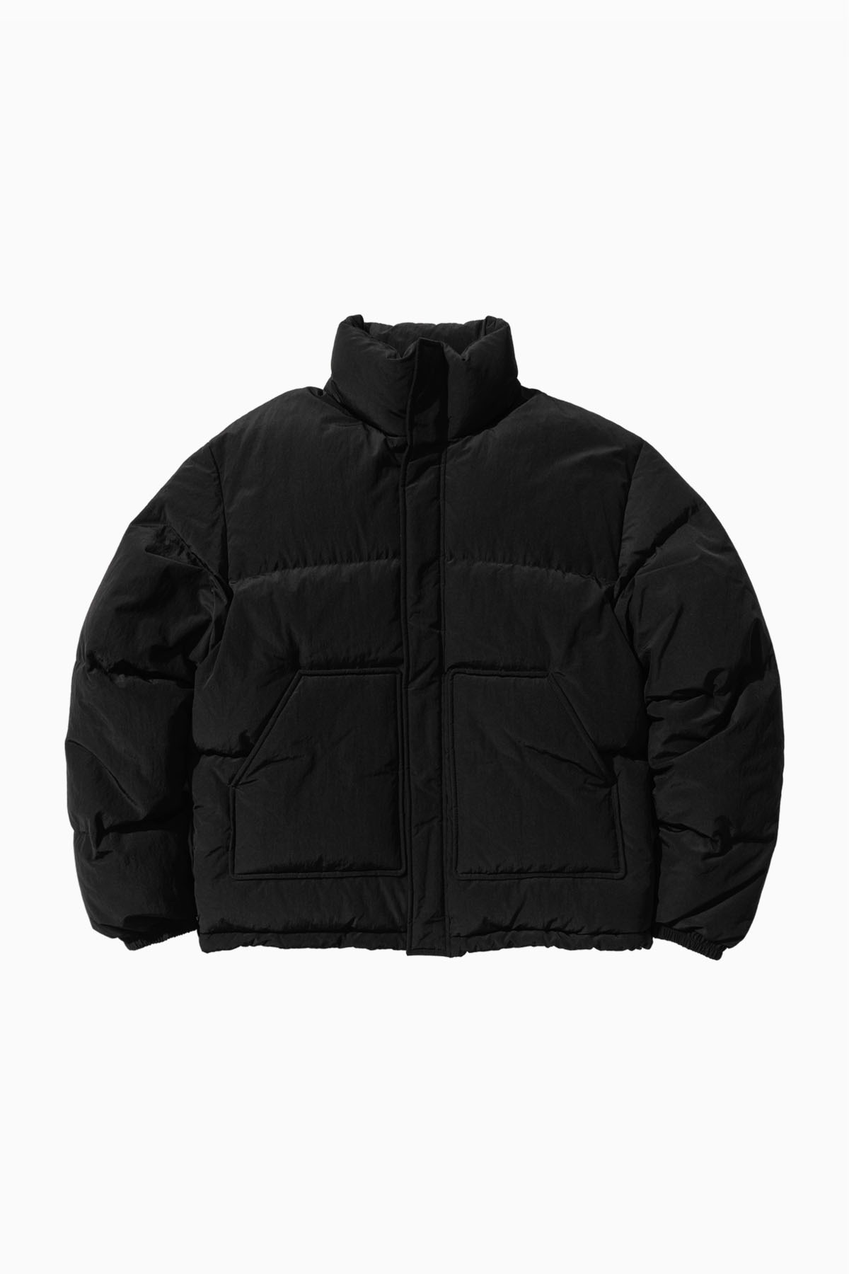 RS SHORT PUFFER_BLACK