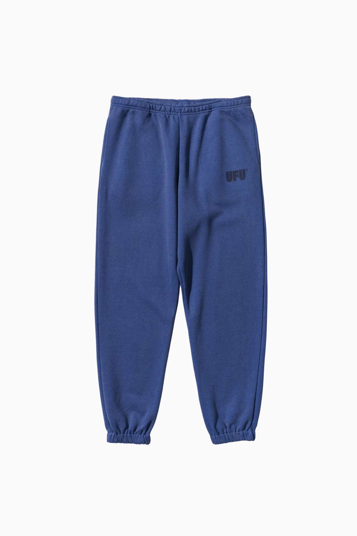 LOGO PIGMENT SWEATPANTS_BLUE