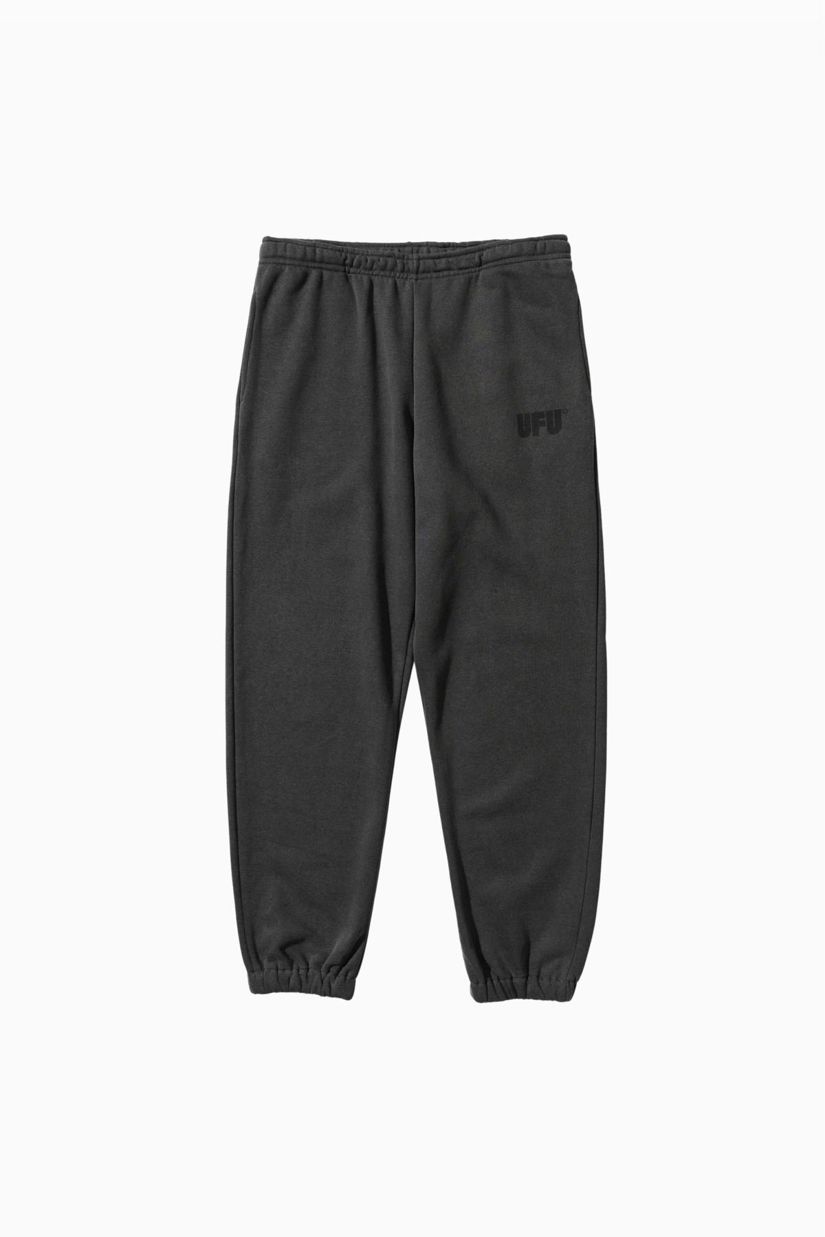 LOGO PIGMENT SWEATPANTS_CHARCOAL