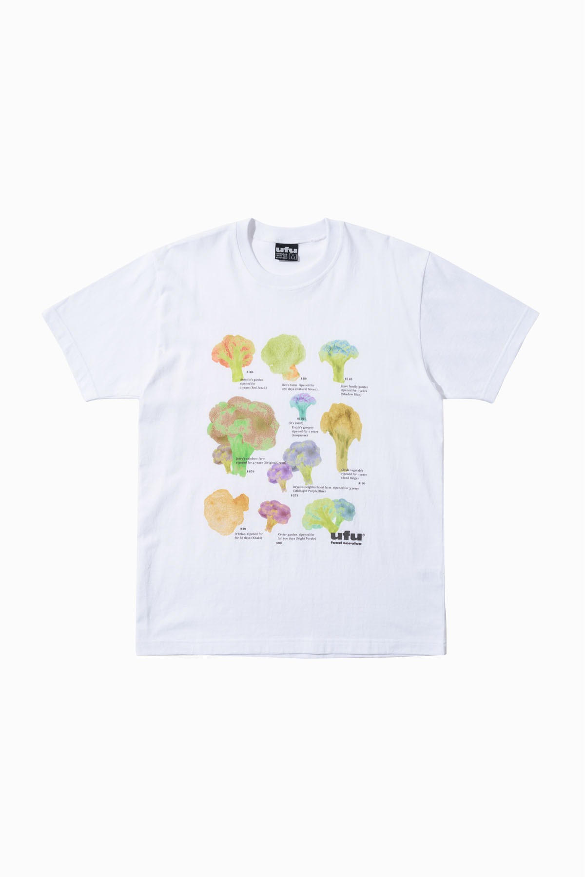 FOOD SERVICE  T-SHIRT_WHITE