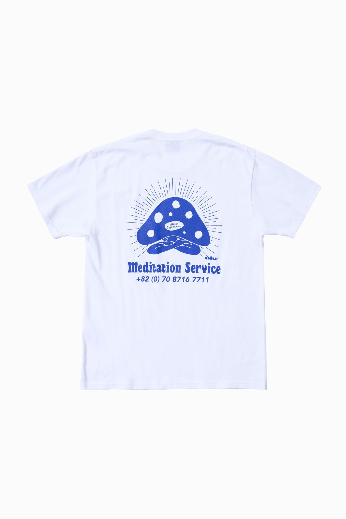 MEDITATION SERVICE T-SHIRT_WHITE