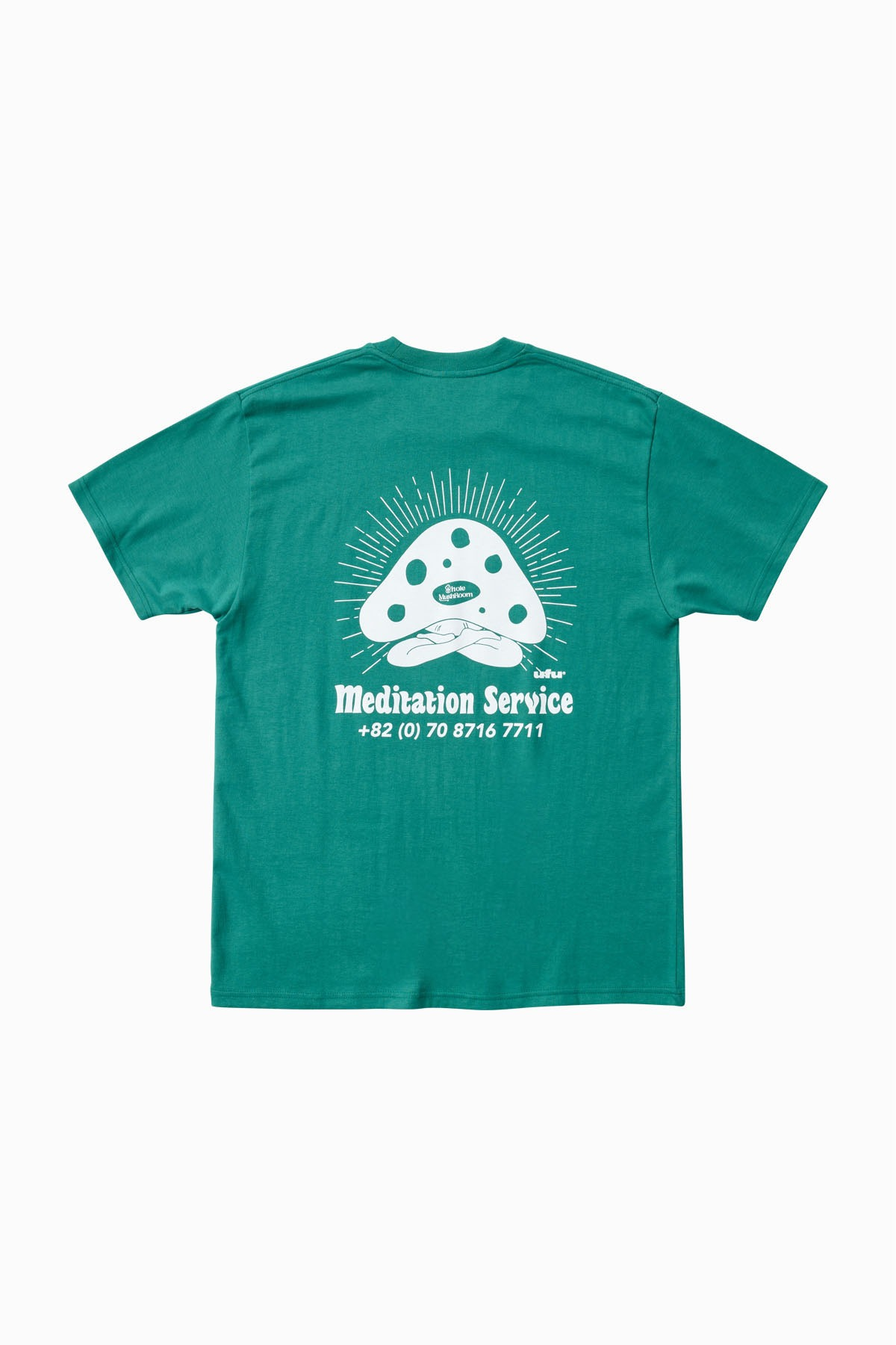 MEDITATION SERVICE T-SHIRT_GREEN